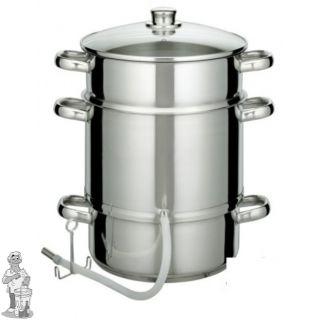 Stoomextractor 7 liter RVS