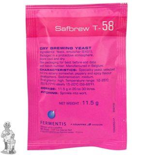 Fermentis Safbrew T-58 11,5 gram.