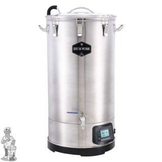 Brew Monk™ Titan 70 Liter - Alles-in-een brouwsysteem Gratis wortkoeler