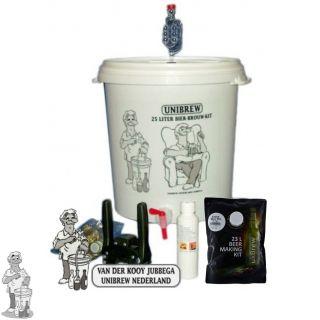 Startpakket Compleet Unibrew brewferm bierpakket naar keuze