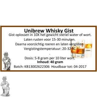 Unibrew Whisky Gist 40 gram