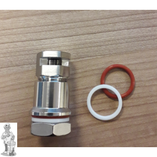 "Ss Brewtech™ whirlpool-koppeling 1/2"" MPT met één doorvoer"