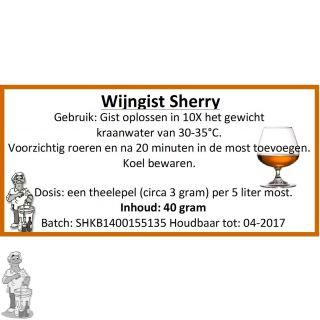Wijngist Sherry 40 gram